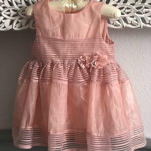 Infant Dusty Pink Dress